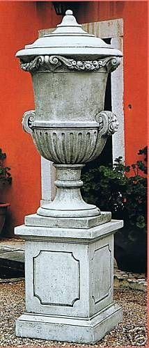 Vase KL 7403 DG (ohne Sockel)