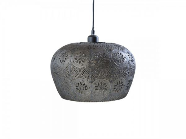 Vire alte Lampe mit Muster klein von Chic Antique