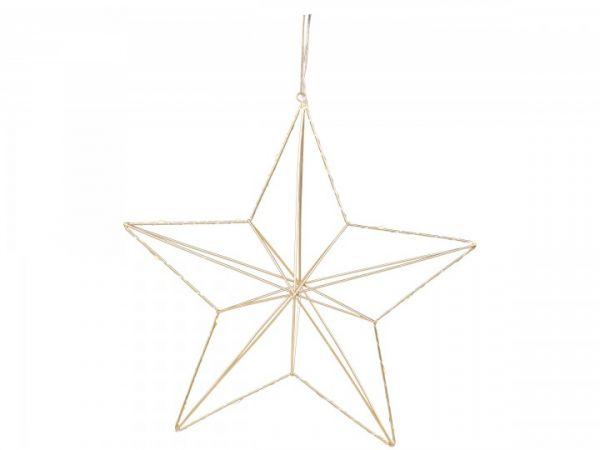 Stern mit Lichterkette zum aufhängen von Chic Antique