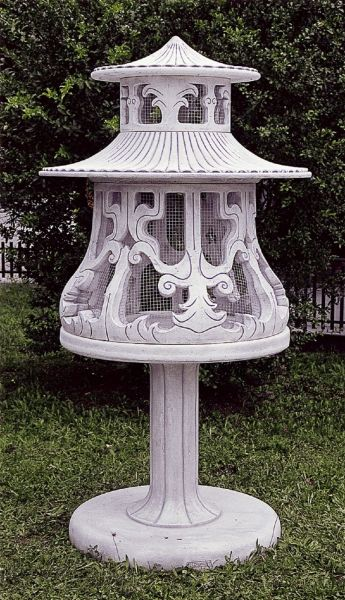 Gartenfigur Vogelvoliere Voliere AV 581 DA
