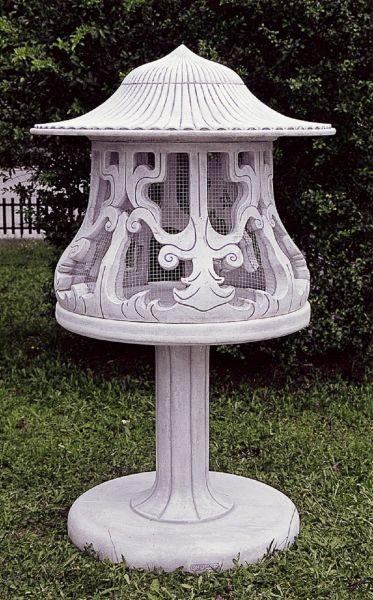 Gartenfigur Vogelvoliere