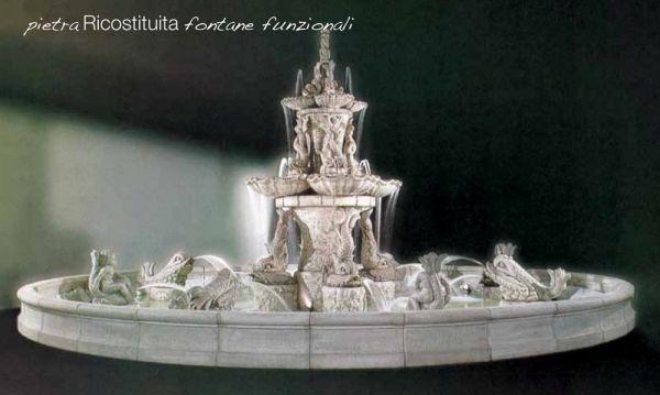 Springbrunnen/Etagenbrunnen Tritoni