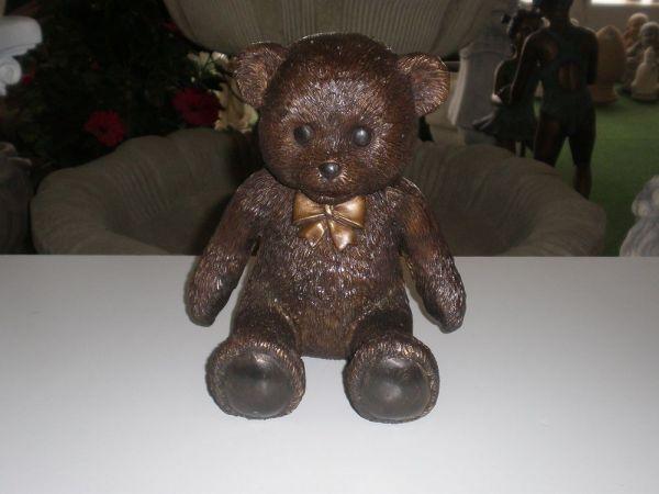 Bronzefigur Teddy