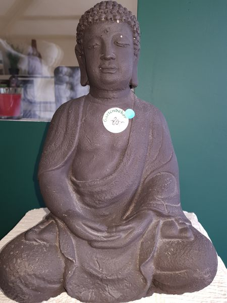 Gartenfigur Buddha medium