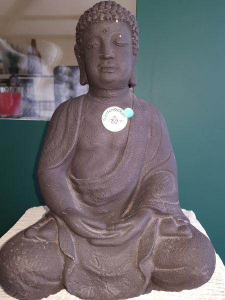 Gartenfigur Buddha medium