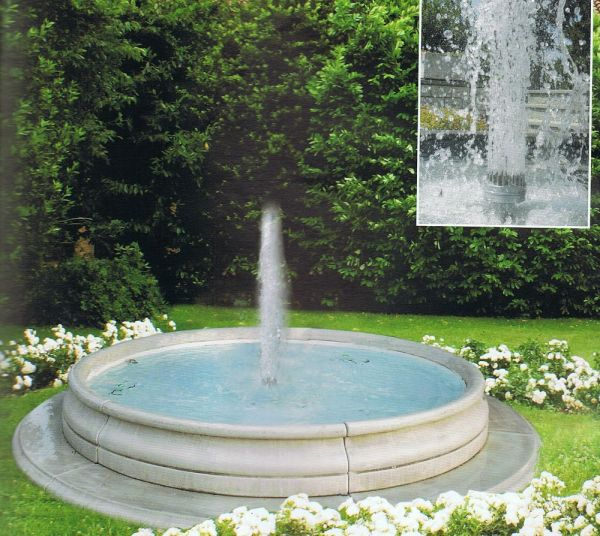 Springbrunnen Iseo Made in Italy