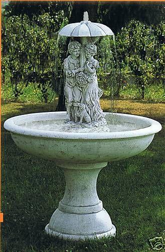 Springbrunnen Melville Made in Italy