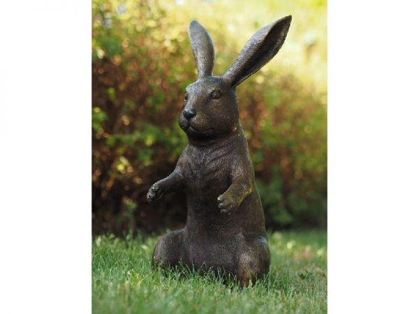 Bronzefigur Hase
