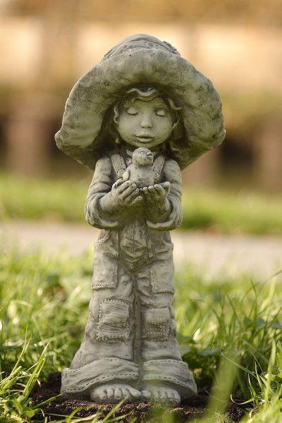 """Gartenfigur Sarah Kay """"LOTTI"""", Steinguss"""