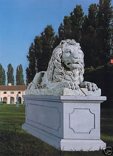 Gartenfigur Liegender Löwe (ohne Sockel)