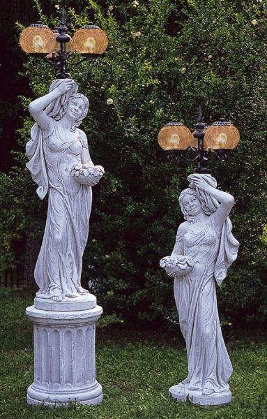 Gartenlampe Isabella SX LA 926 +Isabella DX LA 925 DG (ohne Sockel)