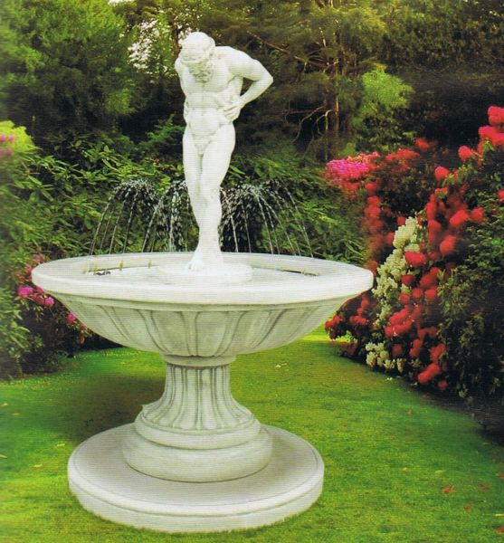 Springbrunnen Atlante
