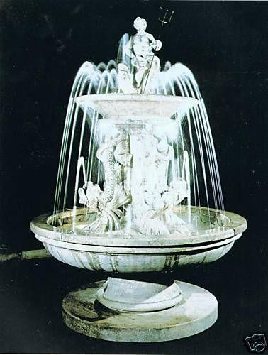Springbrunnen/Etagenbrunnen Tritone