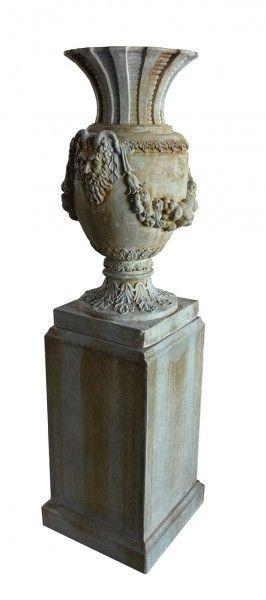Antik-Skulptur Romantica 2-teilig