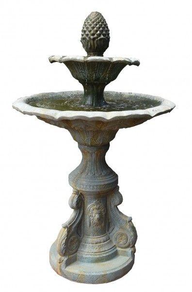 Antik-Brunnen Nizza 4-teilig inkl. Pumpe