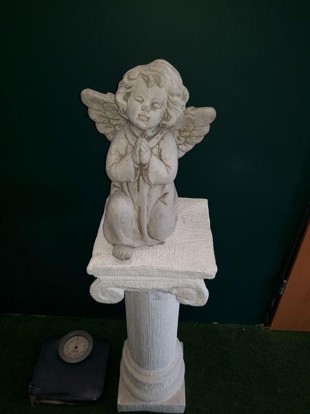 Gartenfigur Betender Engel