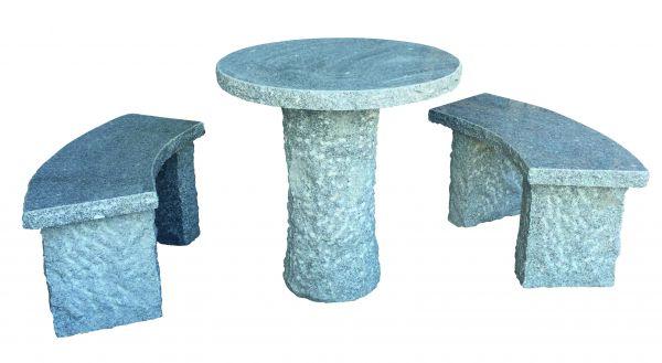 Granit-Sitzgruppe Bernau