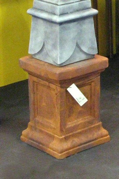 Gartenfigur Säule aus Steinguss, EDITION OXID