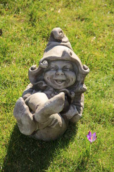 """Gartenfigur """"JACK"""" © by Fiona Scott, Steinguss"""