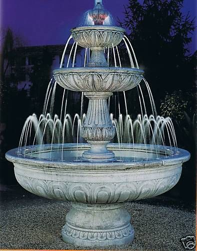Springbrunnen/Etagenbrunnen Agrigento Made in Italy