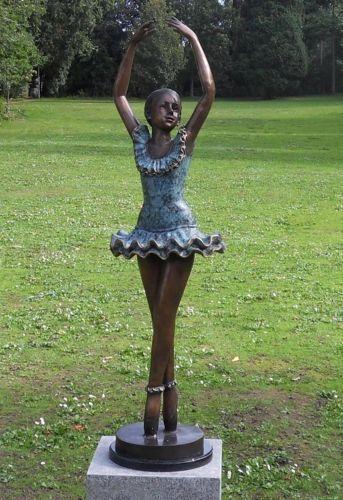 Bronzefigur Ballerina