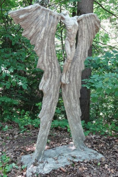 Gartenfigur IKARUS, Steinguss