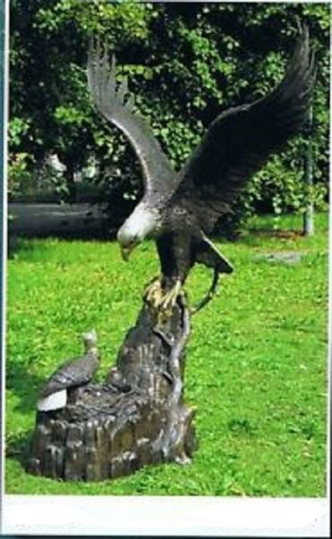 Bronzefigur Adler