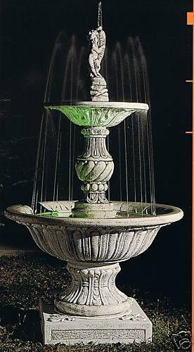Springbrunnen/Etagenbrunnen Acciaroli Made in Italy