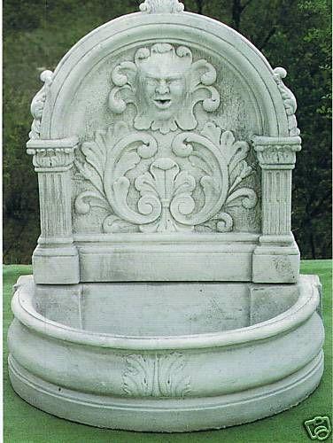 Wandbrunnen Onofrio del Grillo Made in Italy