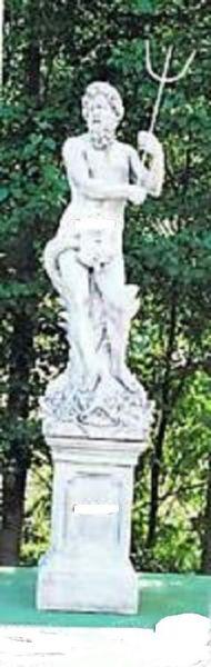 Gartenfigur Statue Nettuno (ohne Sockel)
