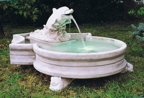 Springbrunnen Delfinetto