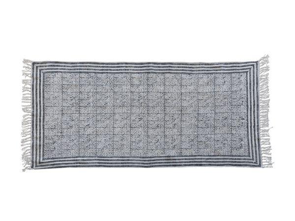 Teppich mit gestreiftem Rand von Chic Antique