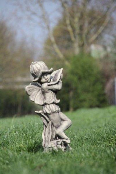 """Gartenfigur FLOWER FAIRY """"Glockenblume"""", Steinguss"""