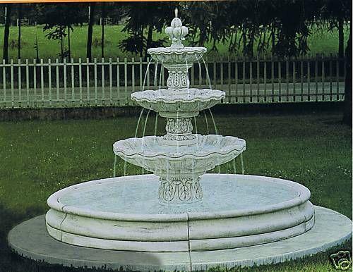 Springbrunnen/Etagenbrunnen Genova
