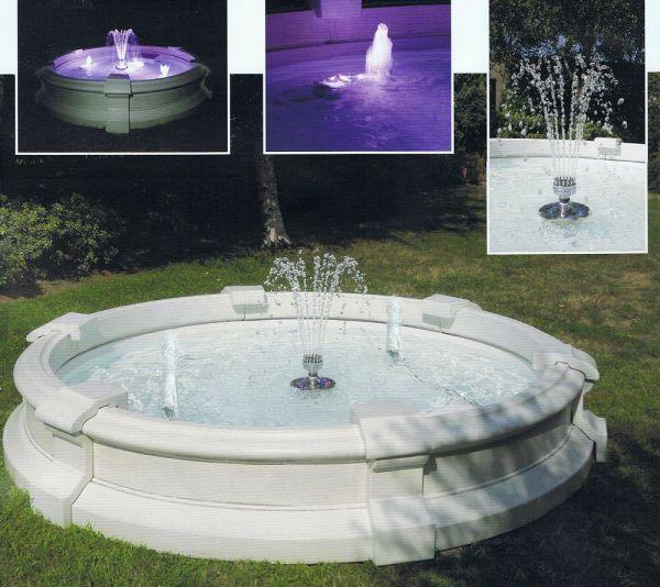 Springbrunnen Alba Adriatica Made in Italy