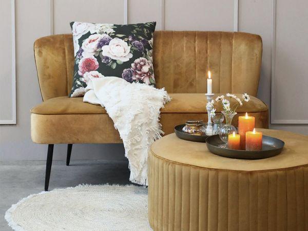 Marat Sofa Velour von Chic Antique