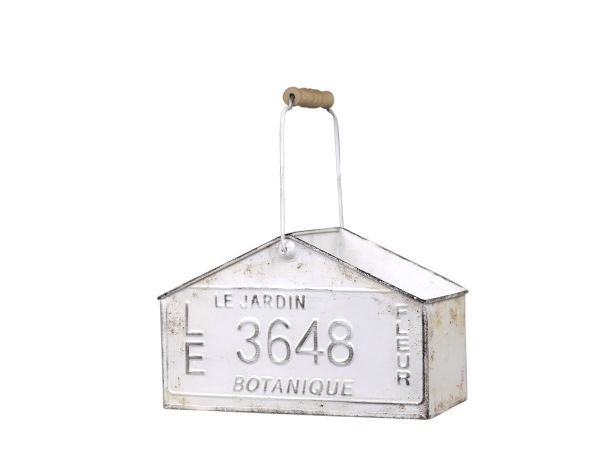 Box mit 2 Fächern und Haken von Chic Antique