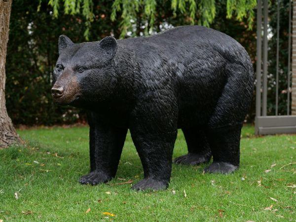 Bronzefigur Bär