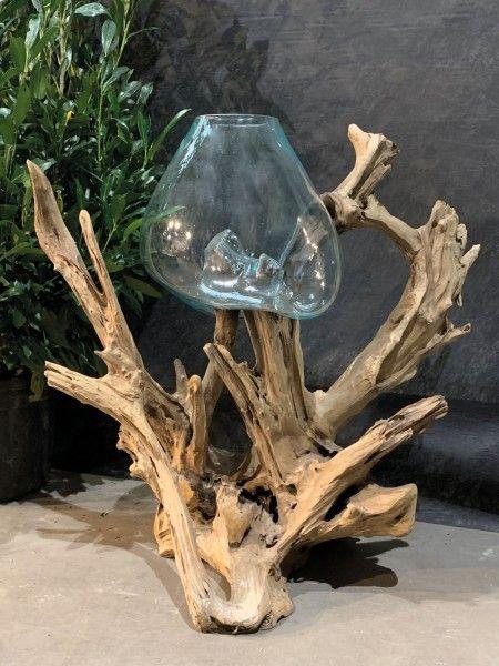 Glas auf Wurzel 1 Glas