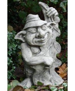 """Gartenfigur Musiker-Troll """"Kontrabass"""""""