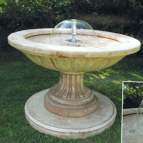 Springbrunnen Falconara Made in Italy