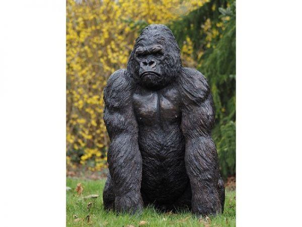 Bronzefigur King Kong