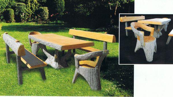 Gartentisch mit Gartenbank 4160 + 4110 + 4191 IP
