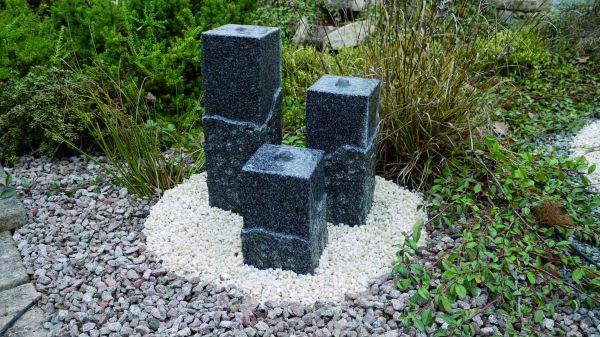 Granit-Wasserspiel Shanghai groß