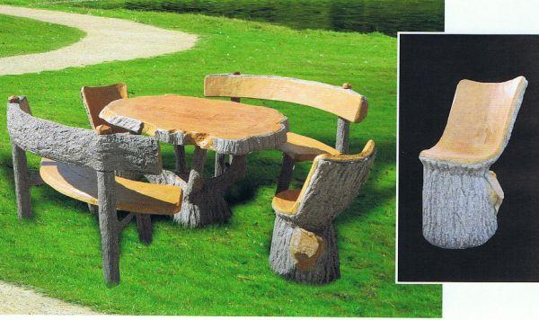 Gartentisch mit Gartenbank 4150 + 4100 + 4190 IP