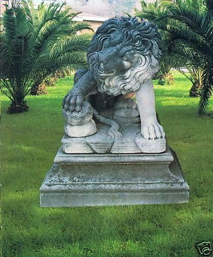 Gartenfigur Löwe (ohne Sockel)