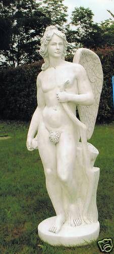 Gartenfigur Statue Cupido ST 1265 DG